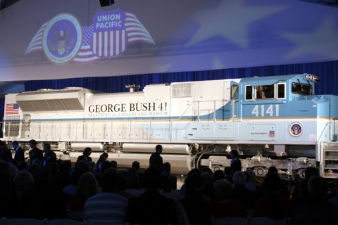 Bush's presidential funeral train first in nearly 50 years