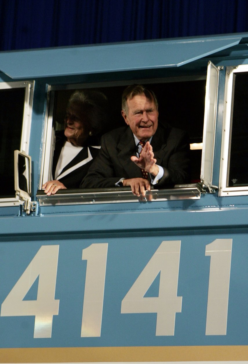 George H.W. Bush, Barbara Bush