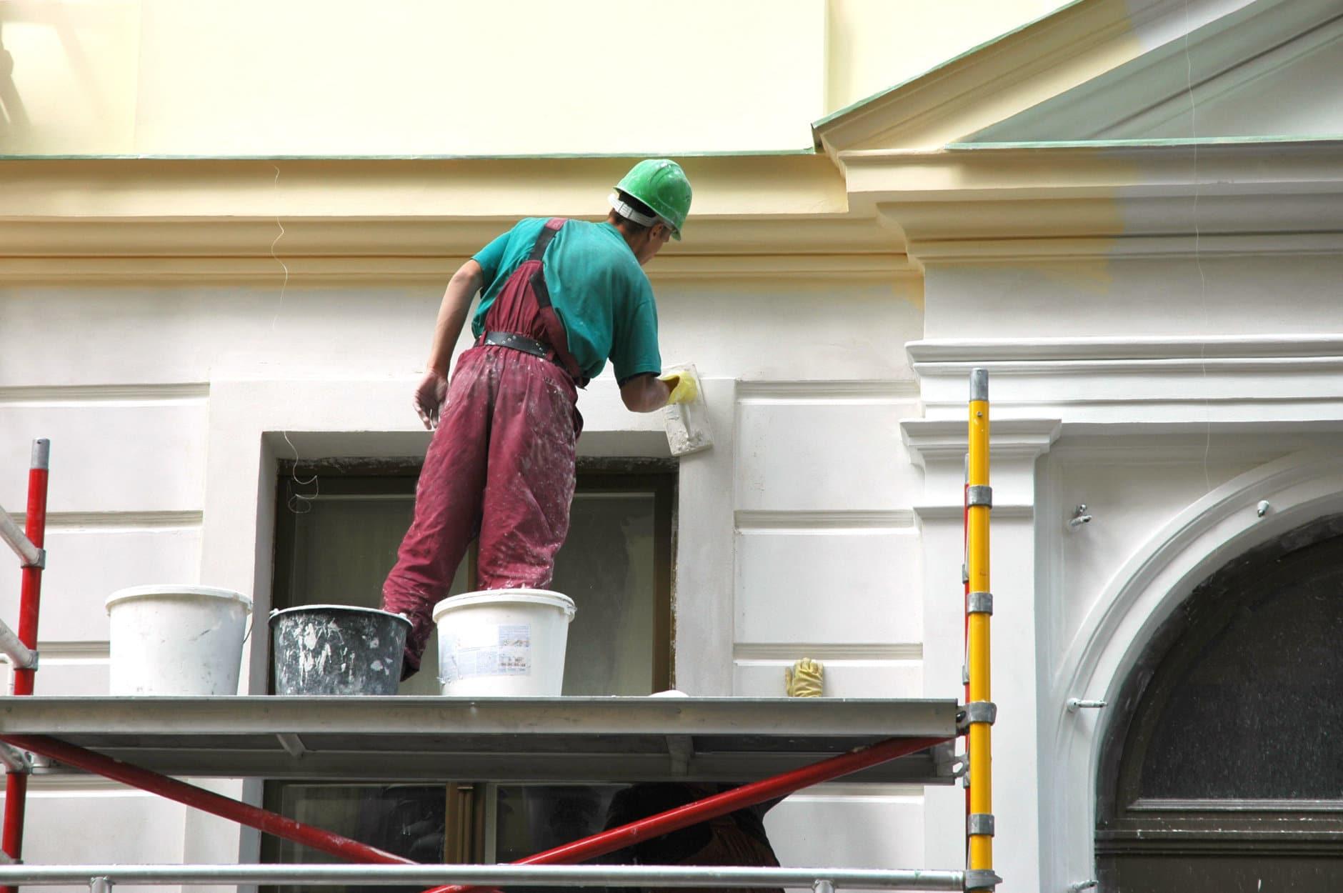 Repair of a building