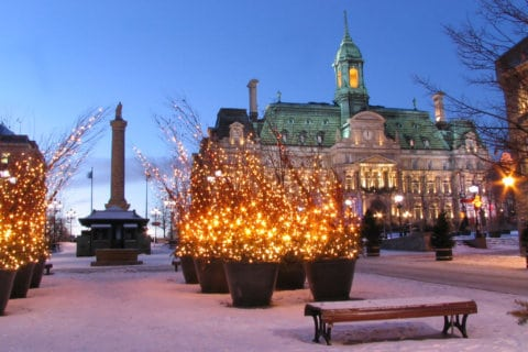 Winter getaway? Consider an escape to snowy Montreal