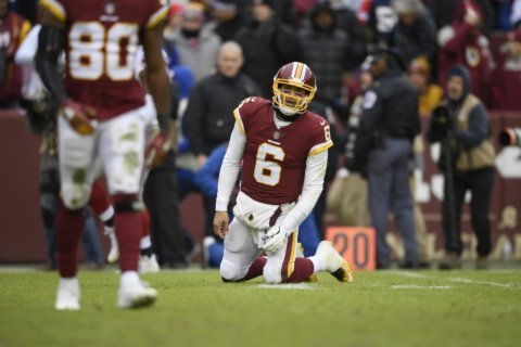 Redskins show no signs of life, lose to the Giants