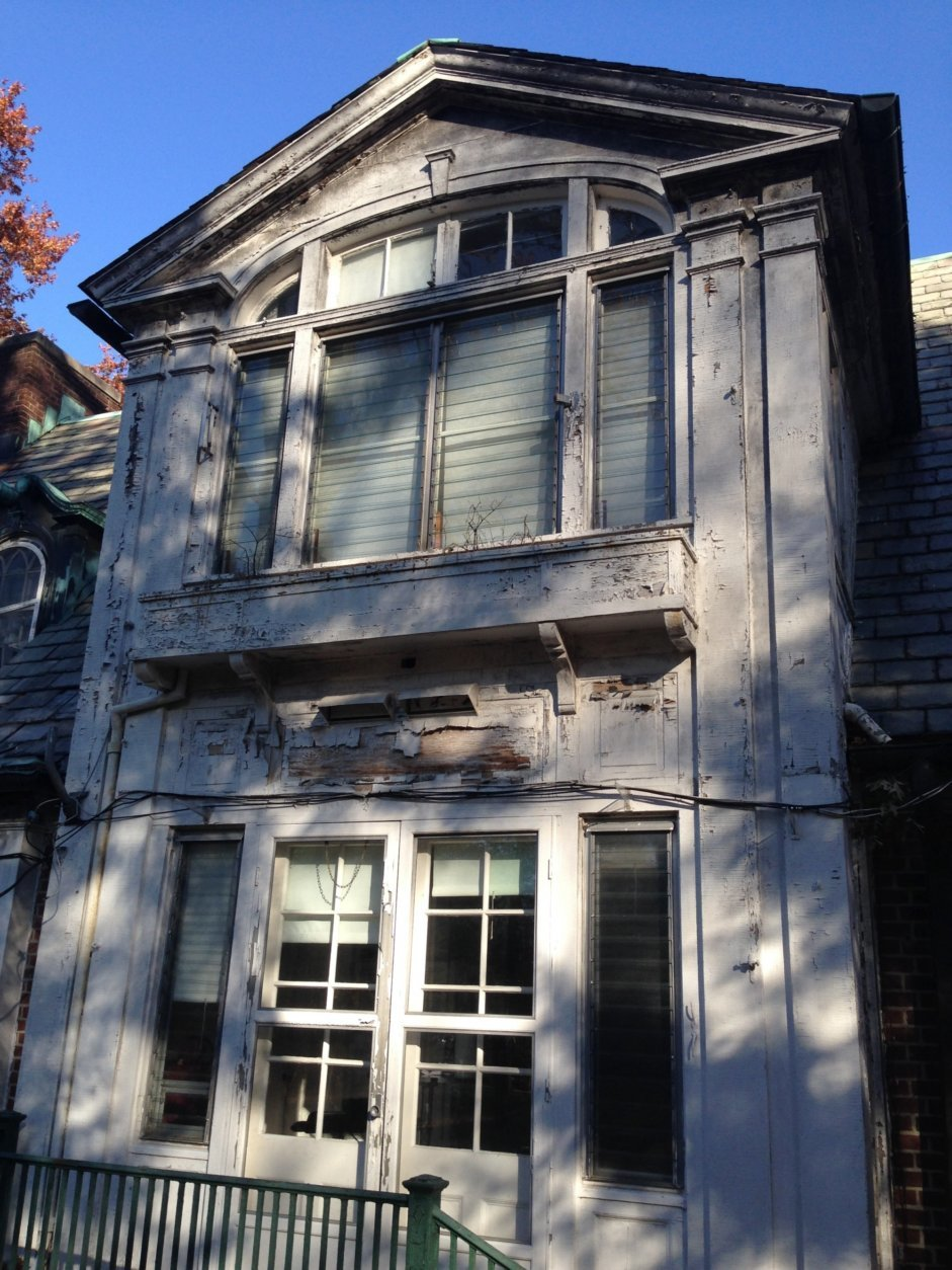 This undated photo provided by Jody Finglas, a finishing and restoration expert, shows a set of windows on a project before being restored in New York. There are plenty of reasons to fix or replace windows, but wintry temperatures push many homeowners to get the job done. Besides the discomfort they cause, drafty windows can add hundreds of dollars to your energy bill over the course of a winter. (Jody Finglass via AP)