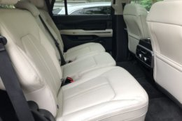 If you're in the market for a large SUV, you expect a good amount of space and the Expedition delivers with seating for up to eight people. (WTOP/Mike Parris)