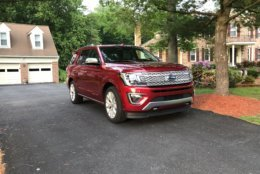 The Ford Expedition is the latest big SUV to be remade into a more modern, big SUV. (WTOP/Mike Parris)
