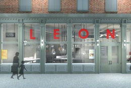 The new LEON will serve breakfast until 11 a.m., and lunch and dinner until 9 p.m. most days. (Courtesy LEON)