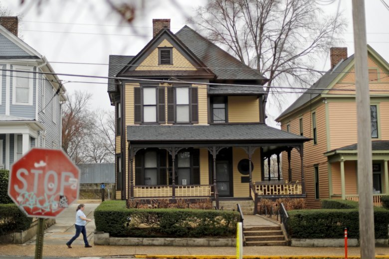 National Park Service Buys Mlk Jr S Birth Home Wtop