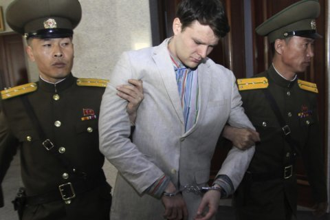 Trump accepts Kim 'word' he had no role in Warmbier death