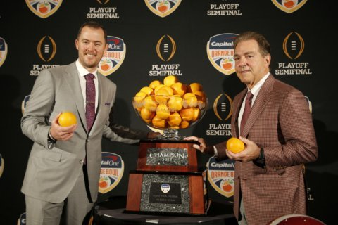 College Football Playoff: Alabama, Clemson again for title
