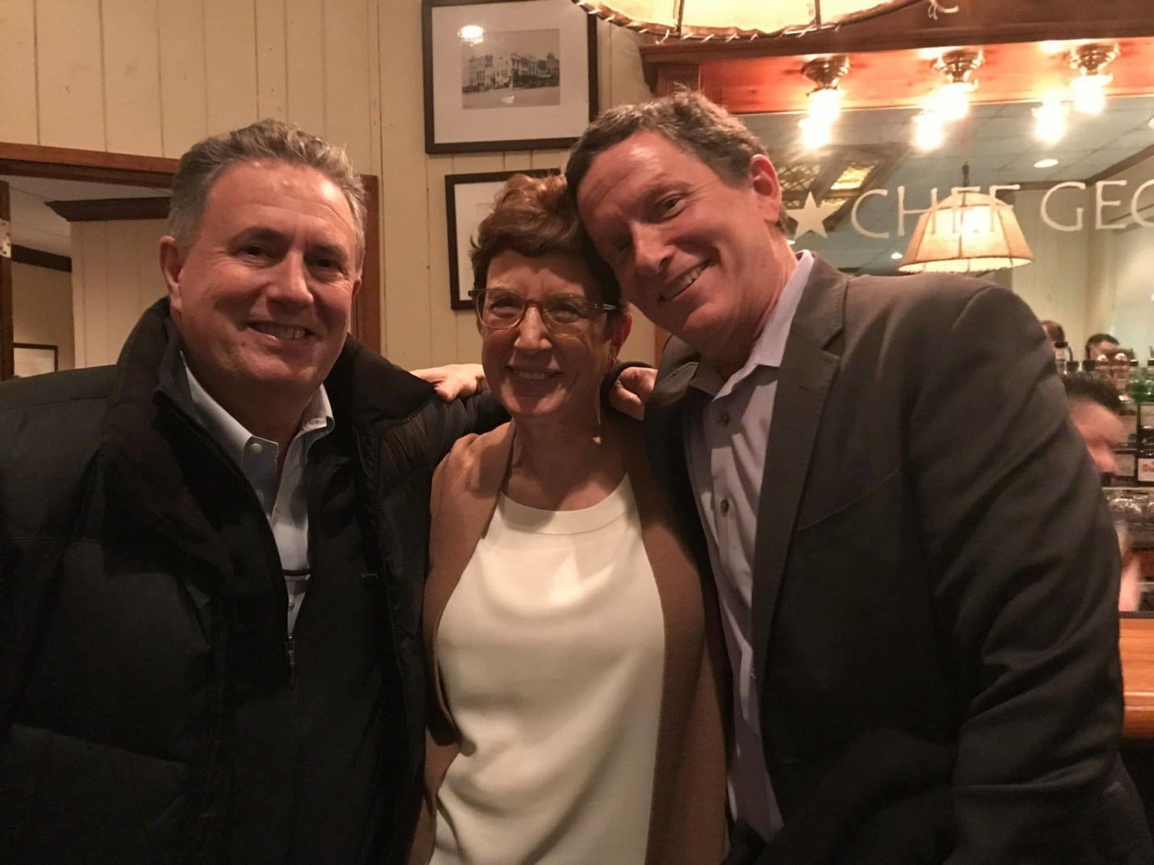 Paul Wagner, Judy Taub and Mark Segraves. (Courtesy Judy Taub)