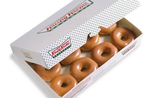 Happy holi-glaze: Krispy Kreme's 'Day of the Dozens' is here