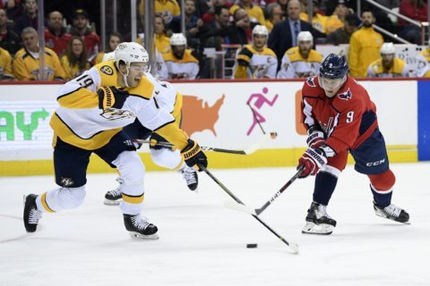 Johansen, Arvidsson help Predators break 6-game losing skid