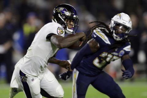 Ravens thrive behind contribution of Jackson, rookie class