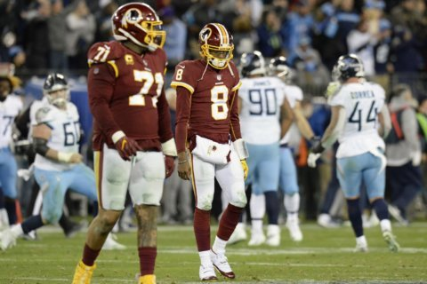 Washington now on verge of elimination after blown lead