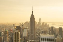 The Empire State Building is a symbol of everything New York City is known for: ambition, innovation, a competitive spirit, and sheer will.  CREDIT: Travelpix Ltd/Photographer's Choice/Getty Images