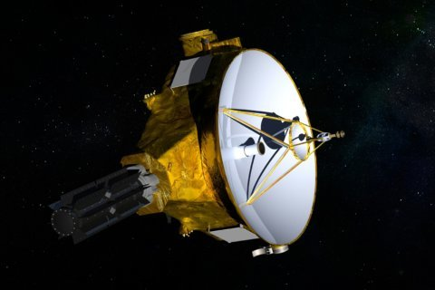 Spacecraft opens new year with flyby on solar system's edge