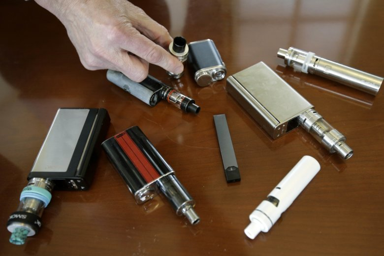 Teen vaping continues to rise while other drug use declines, survey finds