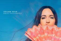 """This cover image released by MCA Nashville shows """"Golden Hour,"""" by Kacey Musgraves, which is named one of the top ten albums of the year. (MCA Nashville via AP)"""