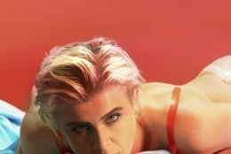 """This cover image released by Konishiwa/Interscope shows """"Honey,"""" by Robyn, which is named one of the top ten albums of the year. (Konichiwa/Interscope via AP)"""