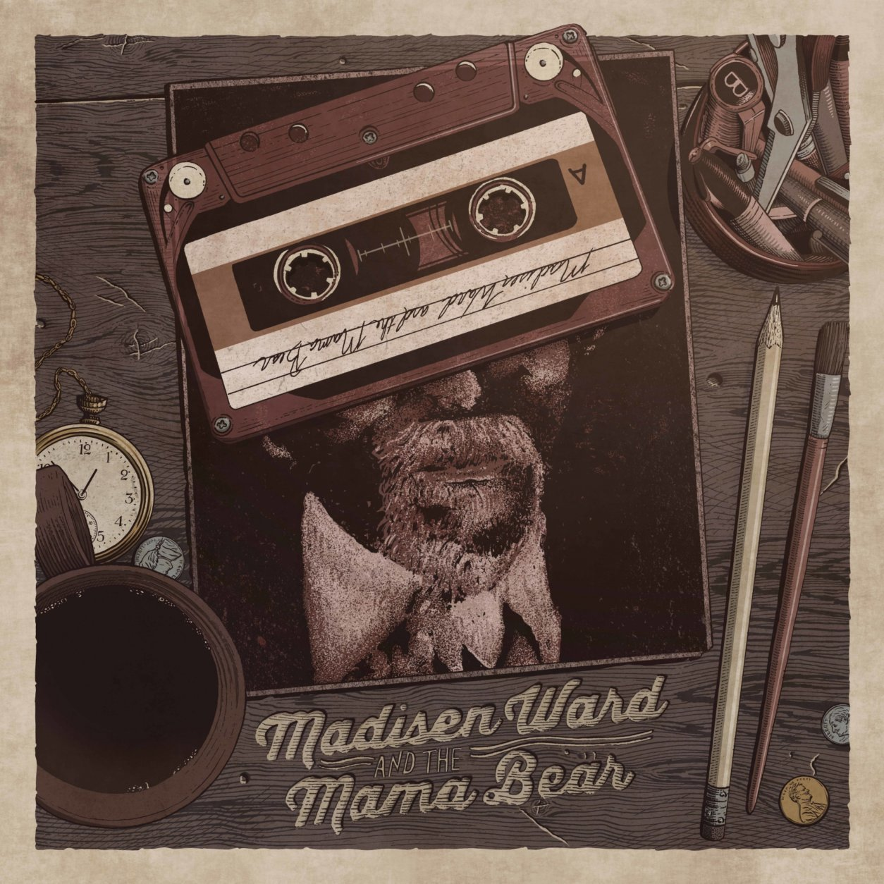 """This cover image released by Glassnote shows """"The Radio Winners,"""" by Madisen Ward and the Mama Bear, which is named one of the top ten albums of the year.  (Glassnote via AP)"""