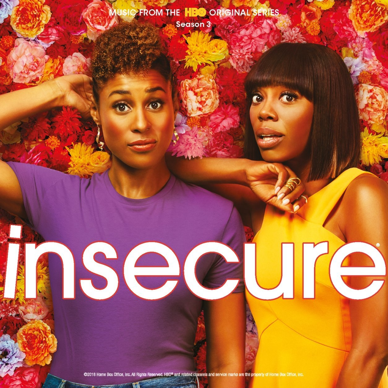 """This cover image released by RCA shows """"Insecure: Music from the HBO Original Series, Season 3,"""" by various artists, which is named one of the top ten albums of the year.  (RCA via AP)"""
