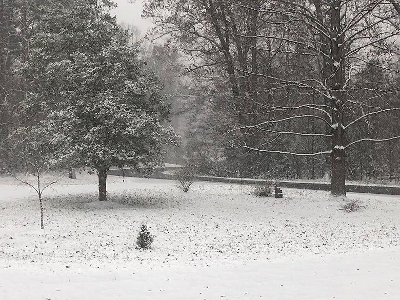 Bryan Wells sent in this photo from Mechanicsville. (Courtesy Bryan Wells via Twitter)