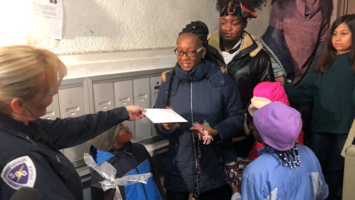Westlake Legal Group chestang3-727x409 'Twas the night before Christmas: Md. first responders surprise family with gifts twas the night before christmas surprise sophia chestang Prince George's County, MD News police Maryland News Local News Latest News gift