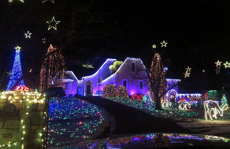 Christmas Light Displays.They Re Lit Virginia S Top Christmas Light Displays For