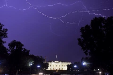 Thousands in the dark around DC area after severe storms