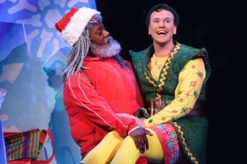 Q&A: Buddy the Elf sings into Olney Theatre Center in 'Elf: The Musical'