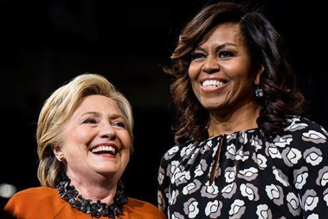 Michelle Obama ends Hillary Clinton's 17-year run as 'most admired woman'