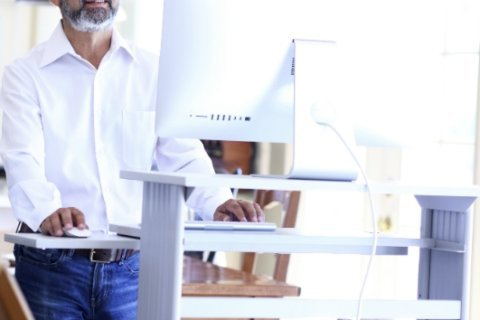 Using standing desks only burns 10 calories an hour, study shows