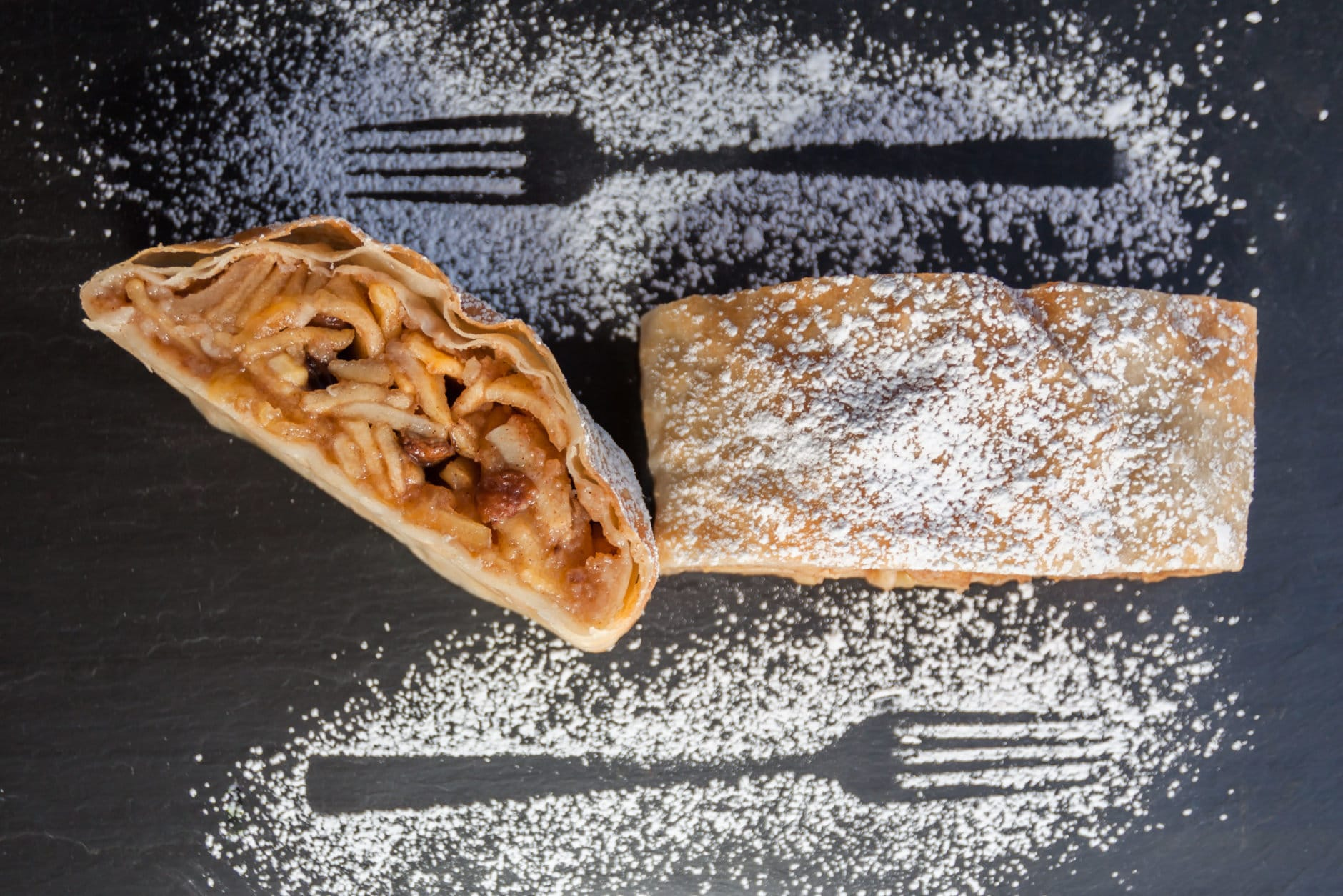 Little Austria's Helene Gallent works out of shared kitchen space, producing her signature strudels for nearly a dozen farmers markets across the region. (Courtesy Little Austria)
