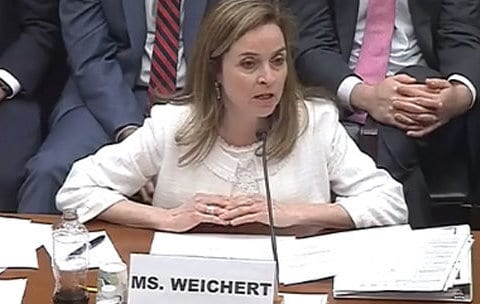 OMB's Margaret Weichert leaving for the private sector