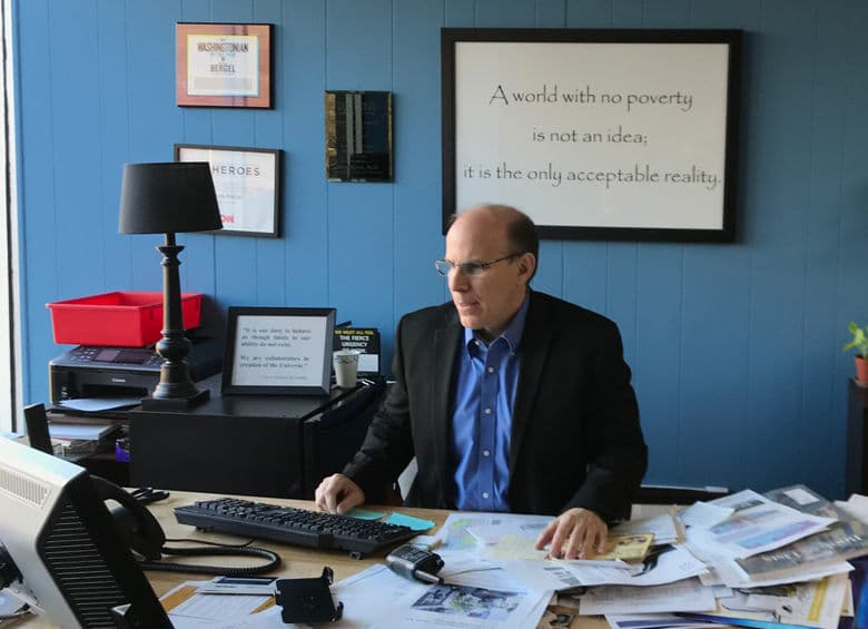 Mark Bargel founded A Wider Circle (WTOP/Dick Uliano)
