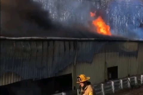 Long-burning Upper Marlboro warehouse fire caused $1.5M in damage