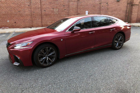 Car Review: Lexus gives its luxury LS 500 sedan a sporty makeover