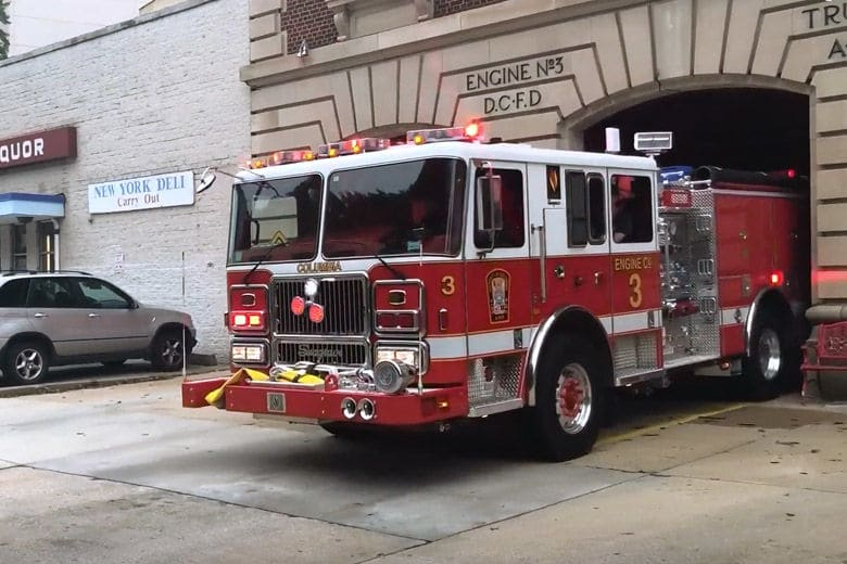 VIDEO: Inside a historic DC fire station — that's among the last of