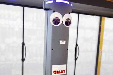 Robot roll call: Giant stores getting mechanized helper 'Marty'