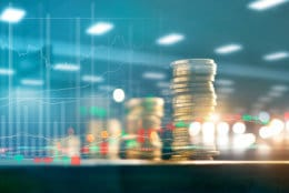 At any given moment, there will always be plenty of positive and negative economic, political and company-specific news influencing the direction of the stock market, says Nina Mitchell. (Getty Images/iStockphoto/ipopba)