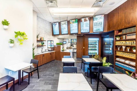 Fruitive marks opening of Dupont Circle spot with free avocado toast