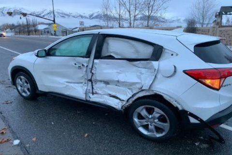 Blindfolded Utah teen crashes her car while doing the 'Bird Box' challenge
