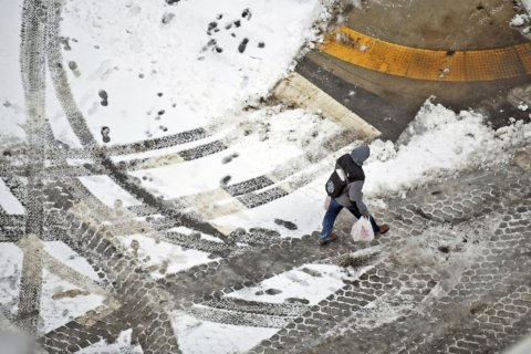 Frigid air, high winds sweep the Northeast; at least 7 dead