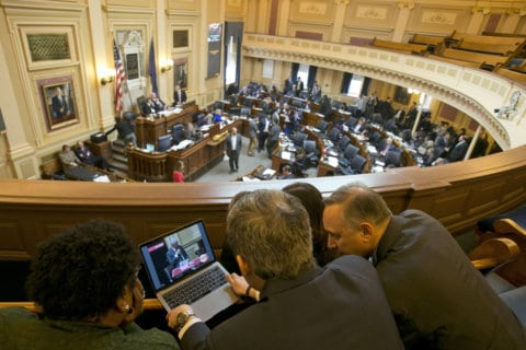Taxes, gambling among top issues as Va. General Assembly convenes