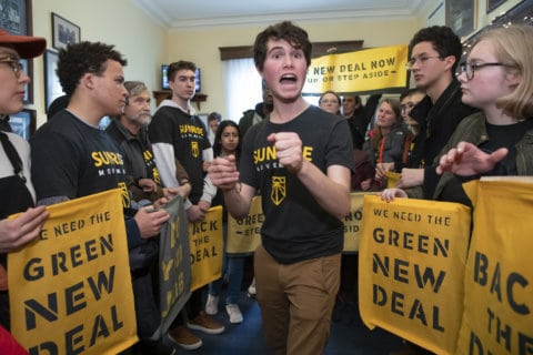 Alexandria Ocasio-Cortez, activists map out next steps in 'Green New Deal' bid