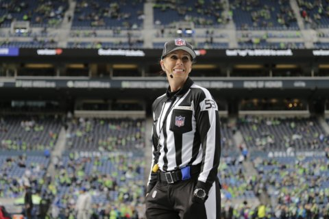Mississippi woman makes history as 1st female to officiate NFL playoff game