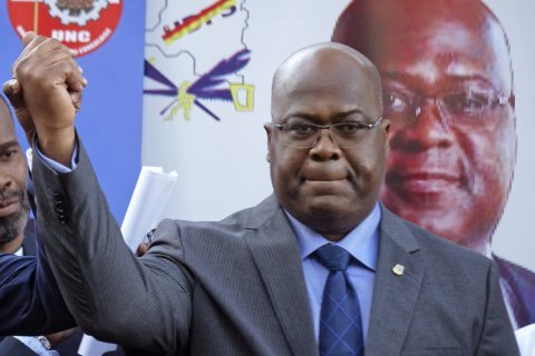Congo inauguration postponed; police stop opposition rally