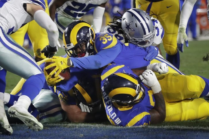 Rams Rush Past Cowboys Advance With 30 22 Playoff Victory Wtop