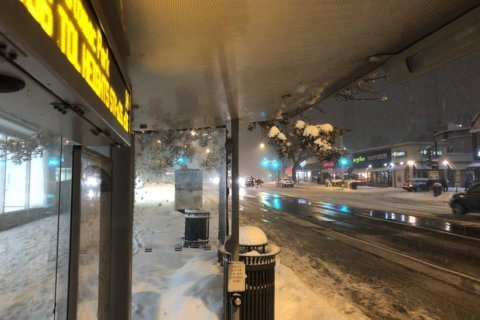 Metrobus service suspended due to bad weather