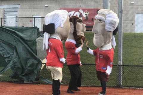 Photos: Nats' Racing Presidents audition brings out fierce competition