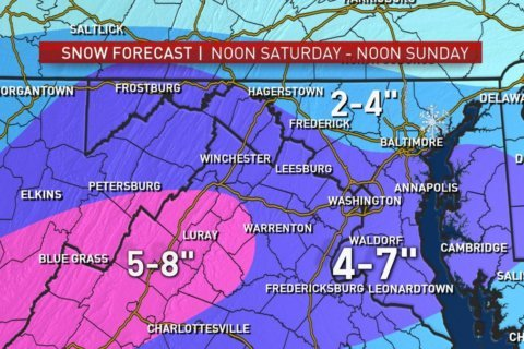 1st snowstorm in months likely this weekend; impacts moderate